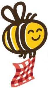 L'abeille qui emballe