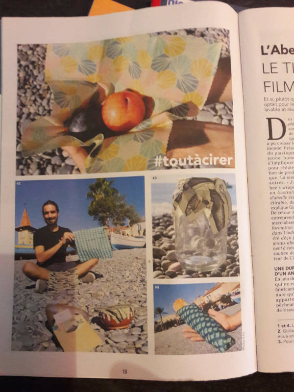 #toutàcirer page1 Nice-Matin article