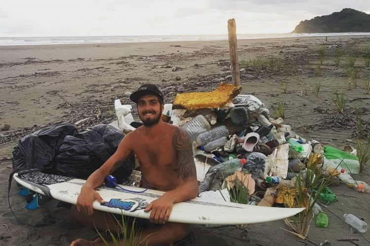Rammassage de déchets