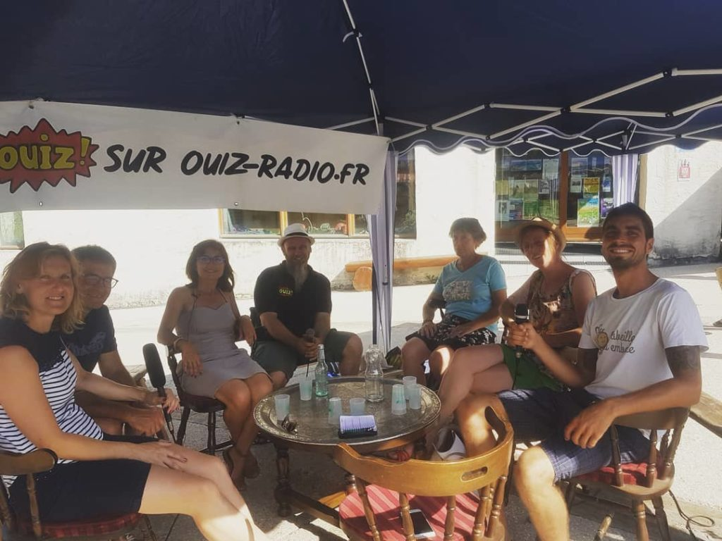 table ronde sur Ouiz-radio