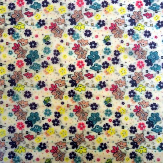 """Collection """"Fleurs des champs"""" - fleurs rose"""
