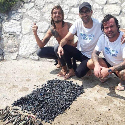 Ils repêchent plus de 60 kilos de plomb de Pêche