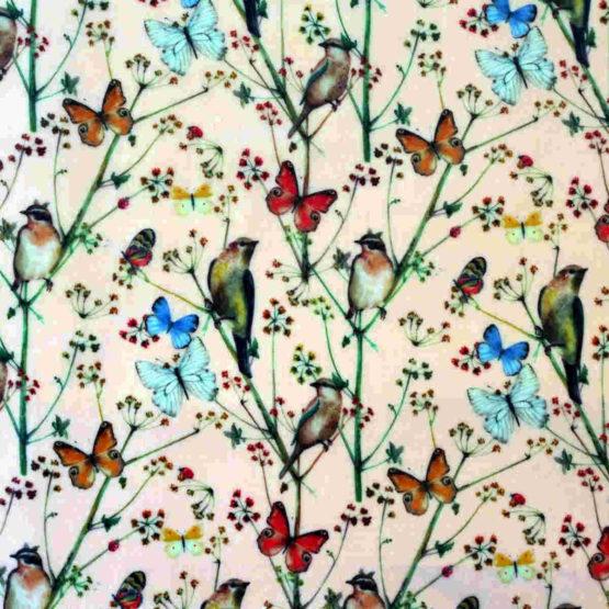 """Collection """"Fleurs des champs"""" - fleurs, oiseaux et papillons"""