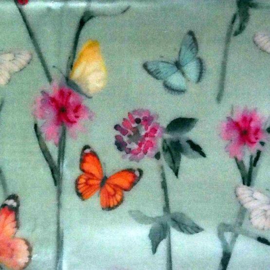 """Collection """"Fleurs des champs"""" - grandes fleurs et papillons"""