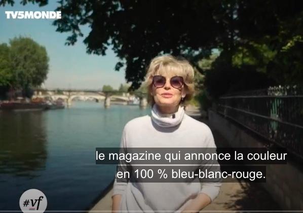 TV5MONDE #vf, le magazine qui annonce la couleur en 100% bleu-blanc-rouge