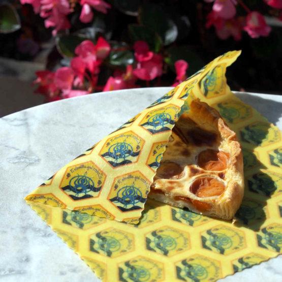 Petit wrap du pack découverte de beeswraps L'abeille qui emballe x Opération Mer Propre